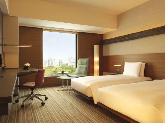 東京凱悦酒店(Hyatt Regency Tokyo)俱樂部雙床房