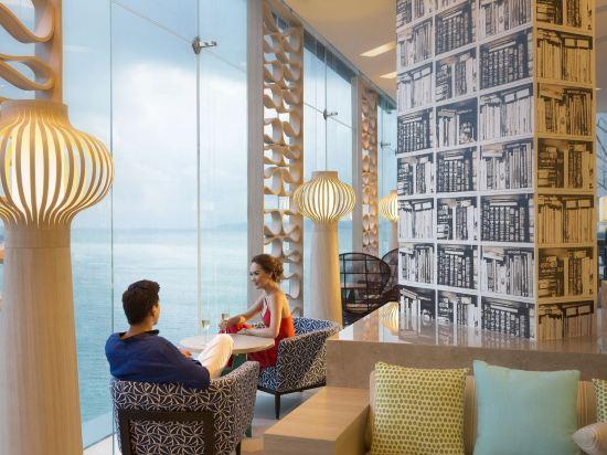 芭堤雅假日酒店(Holiday Inn Pattaya)行政俱樂部轉角景房