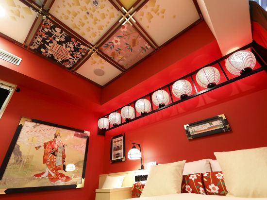 Gracery飯店-京都三條(Hotel Gracery Kyoto Sanjo)歌舞伎室(櫻之間)(北樓)