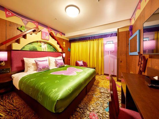 日本樂高樂園酒店(Legoland Japan Hotel)朋友主題甄選房