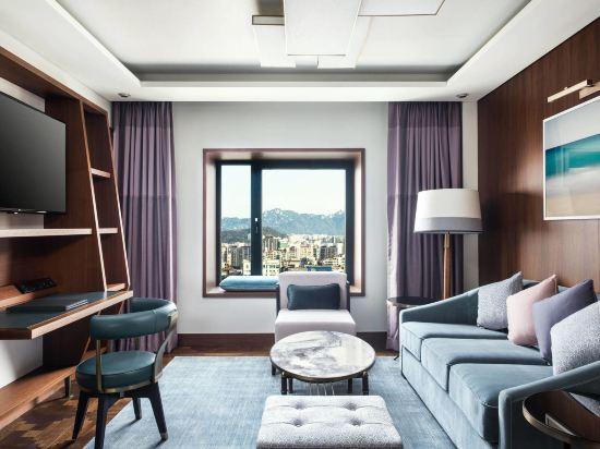 首爾艾美酒店(原,首爾麗思卡爾頓酒店)(Le Meridien Seoul)精緻特大床套房