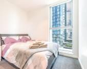 墨爾本市中心2房海景酒店式公寓