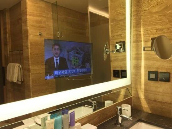 韓國首爾國際金融中心康萊德酒店(Conrad Seoul IFC Korea)豪華房