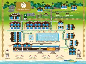 巴拉刁曼島海灘度假村(The Barat Tioman Beach Resort)