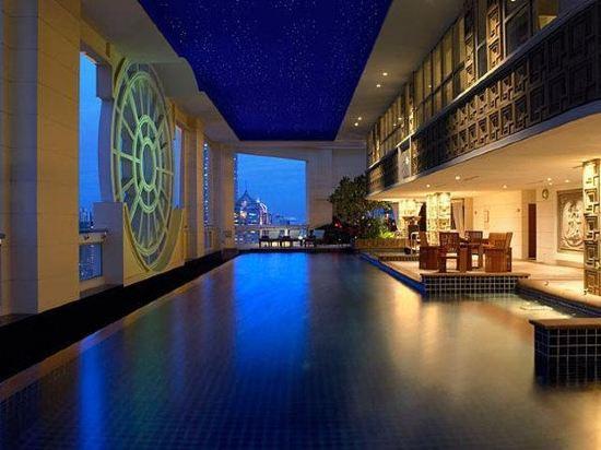 曼谷萬怡酒店(Courtyard by Marriott Bangkok)室內游泳池