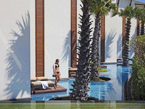 華欣洲際度假酒店(InterContinental Hua Hin Resort)尊貴泳池特大床房帶露台
