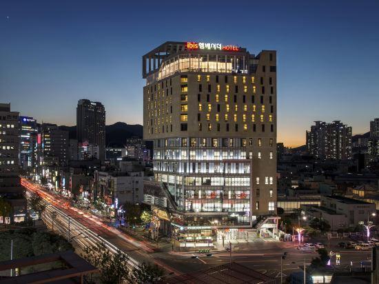 宜必思大使釜山城市中心酒店(Ibis Ambassador Busan City Centre)外觀