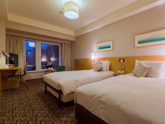 札幌三位神大酒店(Hotel Resol Trinity Sapporo)園景雙床房