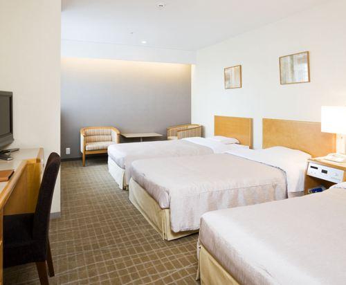 札幌京王廣場飯店(Keio Plaza Hotel Sapporo)標準三人房