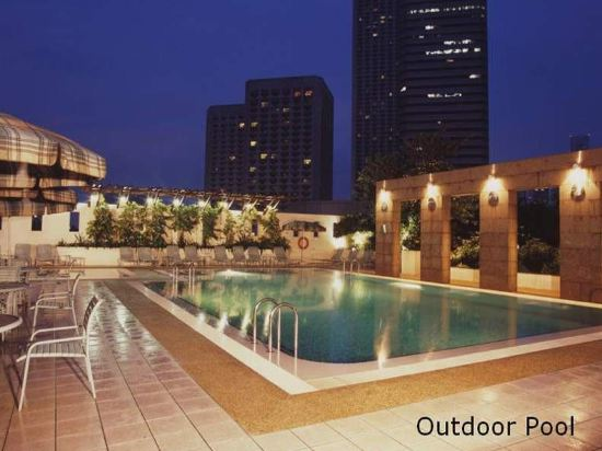 新加坡卡爾登酒店(Carlton Hotel Singapore)室外游泳池