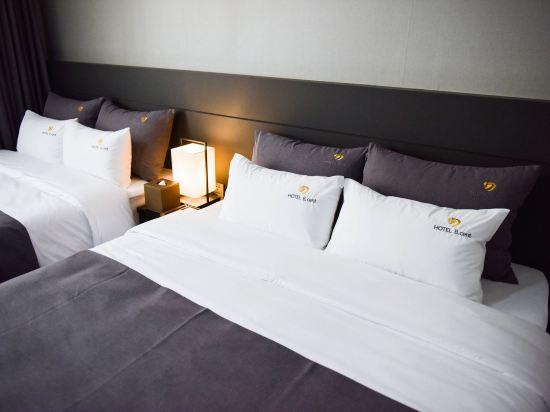 釜山B.Cent酒店(B.Cent Hotel Busan)豪華雙床房