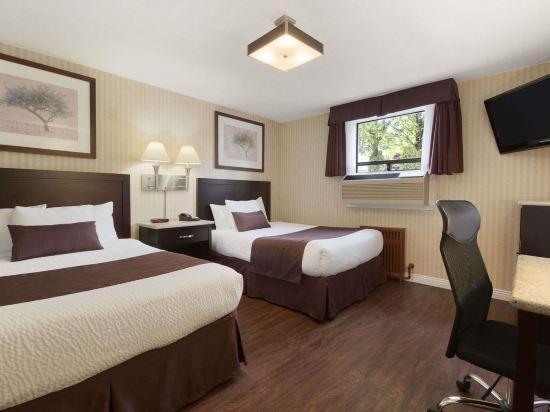 温德姆華麥德龍戴斯酒店(Days Inn by Wyndham Vancouver Metro)豪華雙大床房