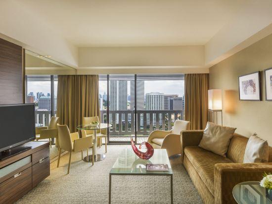 新加坡濱華大酒店(Marina Mandarin Singapore)中庭套房