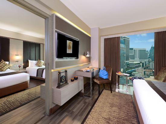 康帕斯酒店集團素坤逸11巷瑞士大酒店(Grand Swiss Sukhumvit 11 by Compass Hospitality)兩卧室家庭房