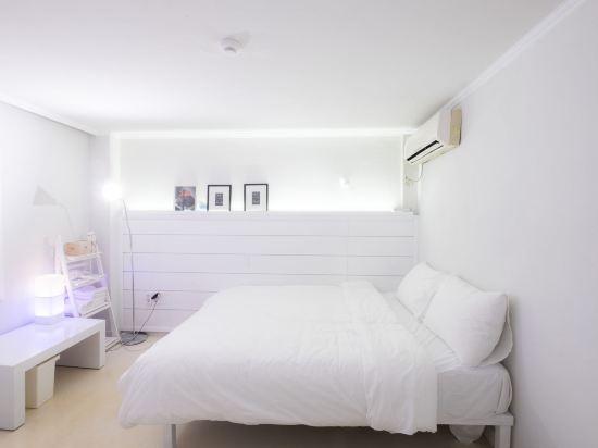 帆布旅舍(Canvas Hostel)大床房