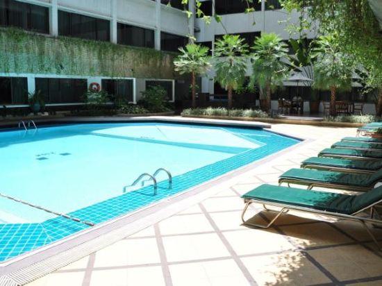 曼谷亞洲酒店(Asia Hotel Bangkok)室外游泳池