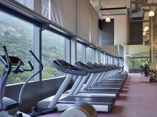 香港數碼港艾美酒店(Le Méridien Cyberport)健身房