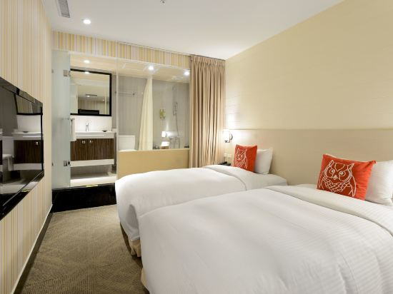 豐居旅店(台北西門館)(Via Hotel)豪華雙床房
