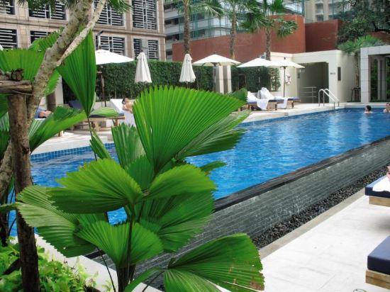 曼谷萬怡酒店(Courtyard by Marriott Bangkok)室外游泳池
