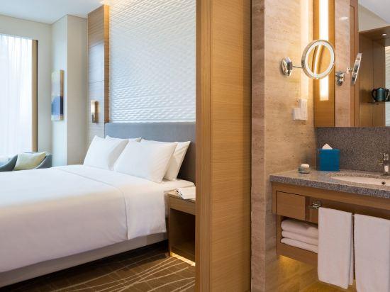 新加坡烏節門真酒店(Hotel Jen Singapore Orchardgateway by Shangri-La)高級城景房