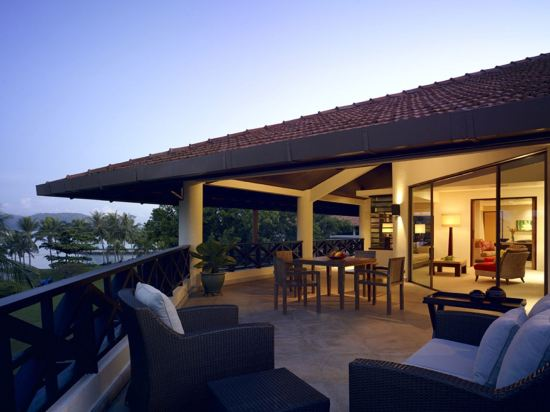 哥打京那巴魯香格里拉丹絨亞路酒店(Shangri-La's Tanjung Aru Resort & Spa Kota Kinabalu)公共區域