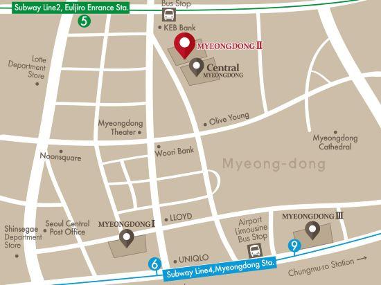 天空花園酒店明洞2號店(Hotel Skypark Myeongdong 2)其他