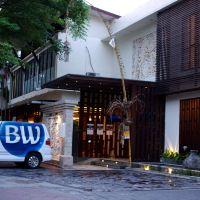巴厘島貝斯特韋斯特庫塔別墅酒店酒店預訂