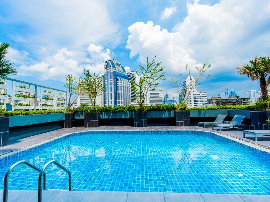 康帕斯酒店集團素坤逸11巷瑞士大酒店(Grand Swiss Sukhumvit 11 by Compass Hospitality)室外游泳池