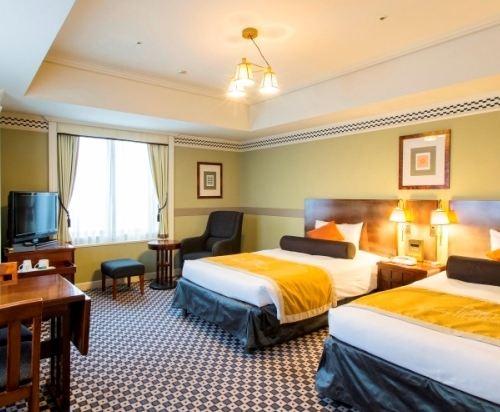 札幌蒙特利埃德爾霍夫酒店(Hotel Monterey Edelhof Sapporo)標準雙床房