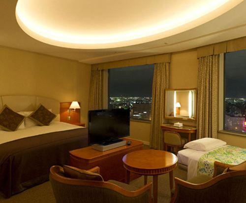 札幌王子酒店(Sapporo Prince Hotel)豪華大床房