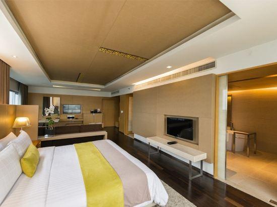 曼谷帕色哇公主酒店(Pathumwan Princess Hotel)地平線套房