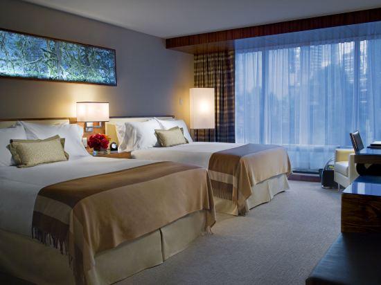 費爾蒙特環太平洋酒店(Fairmont Pacific Rim)半港景豪華房