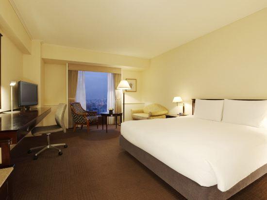 東京凱悦酒店(Hyatt Regency Tokyo)景觀特大床房