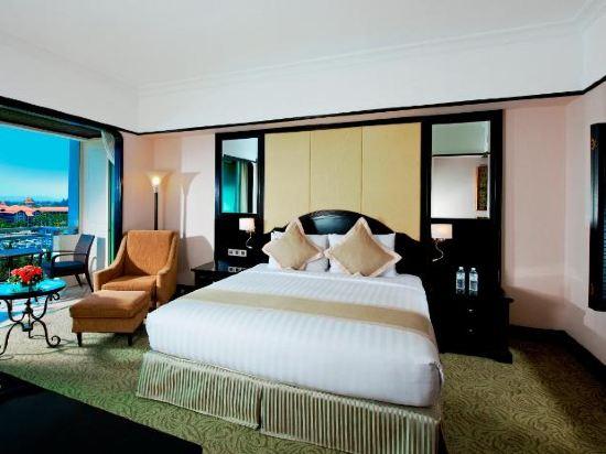 哥打京那巴魯絲綢太平洋酒店(The Pacific Sutera)豪華海景房