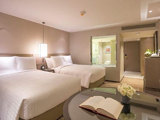 曼谷馬奎斯皇后公園萬豪酒店(Bangkok Marriott Marquis Queen's Park)豪華公園景觀房