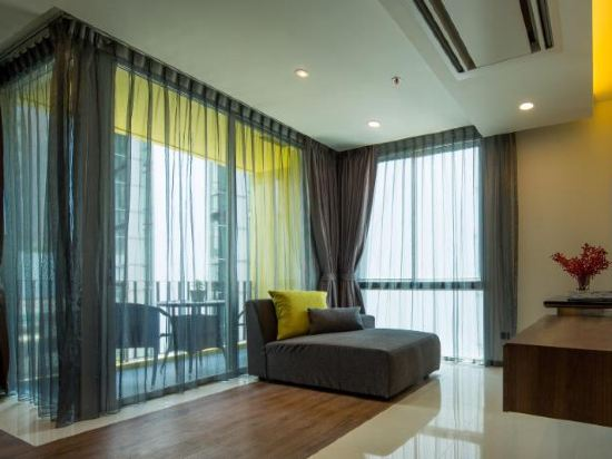 曼谷利特公寓(LiT BANGKOK Residence)兩卧室豪華套房