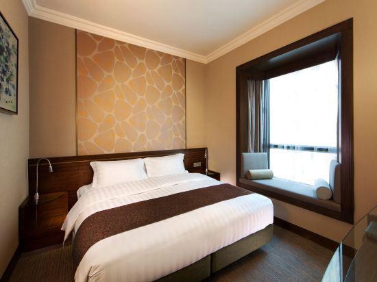 香港珀麗酒店(Rosedale Hotel Hong Kong)連通豪華房