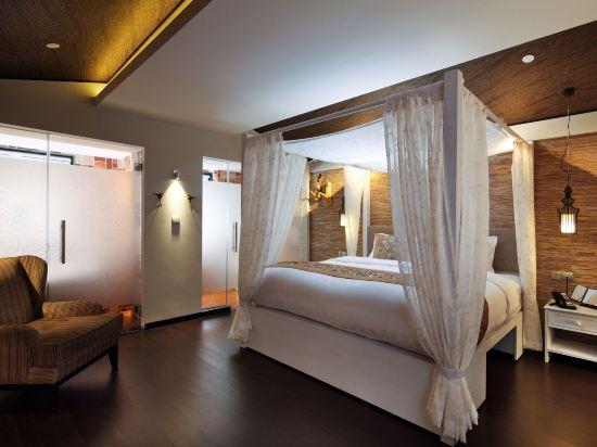新加坡客來福酒店惹蘭蘇丹33號(Hotel Clover 33 Jalan Sultan Singapore)園景奢華套房
