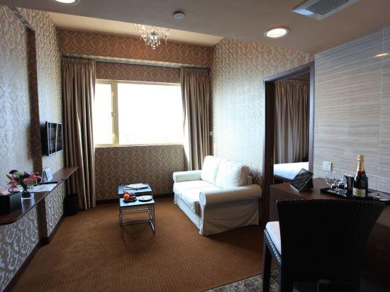 香港華麗都會酒店(Grand City Hotel)套房 - 帶免費沙發床