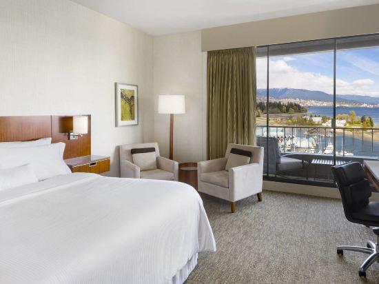 海柏温哥華威斯汀酒店(The Westin Bayshore Vancouver)尊貴灣景特大床房塔樓