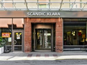 斯德哥爾摩斯堪克拉拉酒店(Scandic Klara Stockholm)