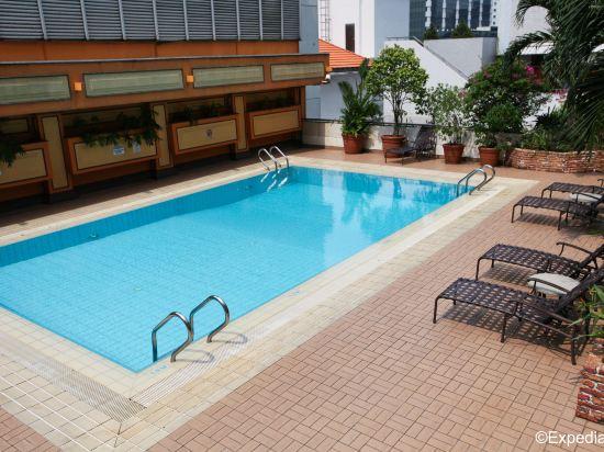 新加坡大太平洋酒店(Hotel Grand Pacific Singapore)室外游泳池