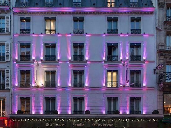 歌劇院鑽石阿爾巴宅邸酒店 - 貝斯特韋斯特頂級精選(Hotel Opera Diamond, BW Premier Collection)外觀