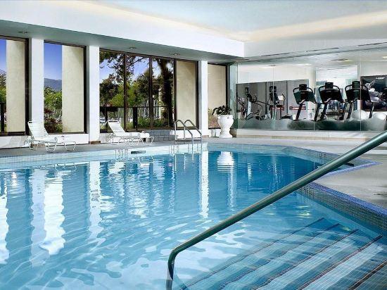 海柏温哥華威斯汀酒店(The Westin Bayshore Vancouver)室內游泳池