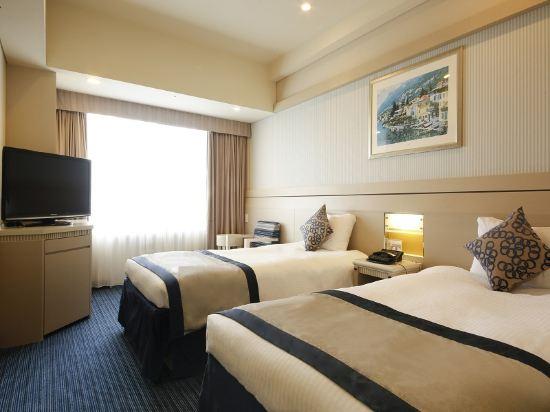 京阪環球塔酒店(Hotel Keihan Universal Tower)標準雙床房