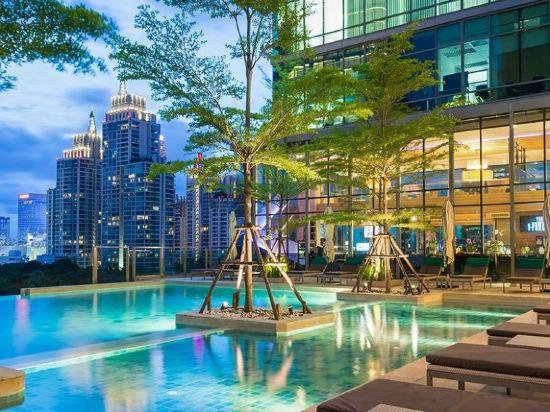 曼谷斯瓦特爾酒店(Sivatel Bangkok)室外游泳池