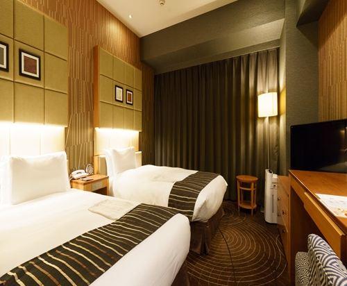 東新宿燦路都大飯店(Hotel Sunroute Higashi Shinjuku)標準雙床房