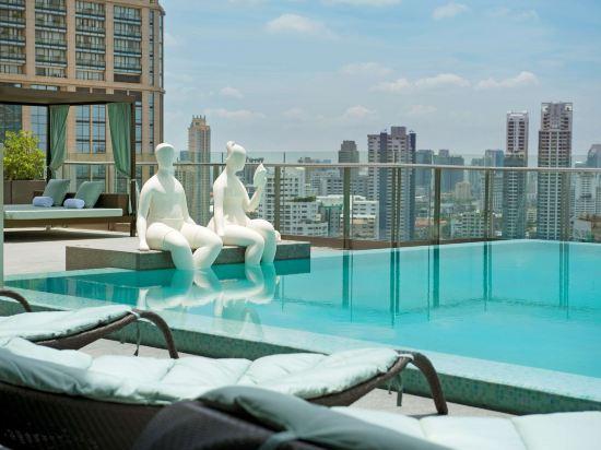 曼谷素坤逸希爾頓酒店(Hilton Sukhumvit Bangkok)室外游泳池