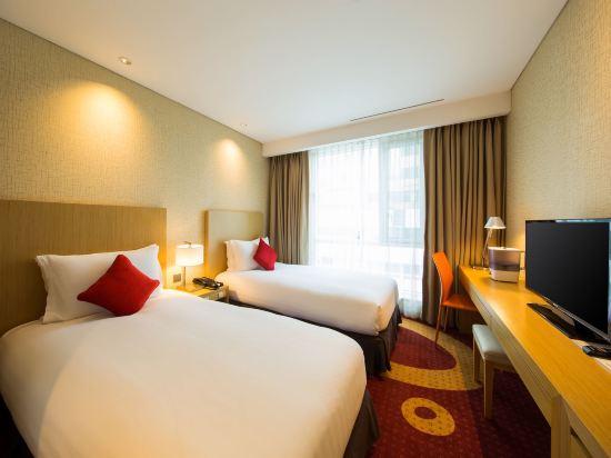 釜山索拉利亞西鐵酒店(Solaria Nishitetsu Hotel Busan)標準雙床房