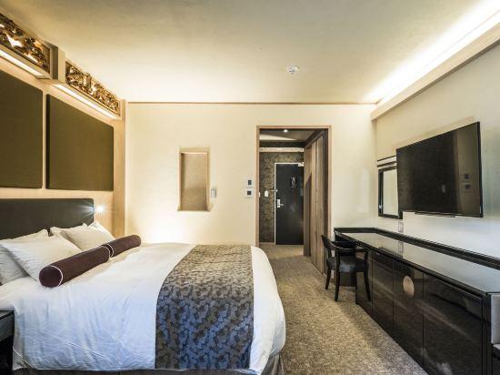 京都雅然居酒店(祇園)(Hotel Alza Kyoto)舒適大床房